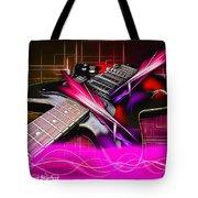 Electro Guitar Tote Bag