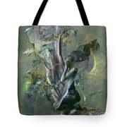 Electro Vine Tote Bag