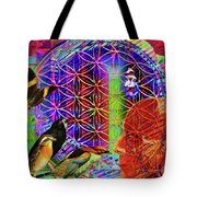 Electromagnetic  Tote Bag