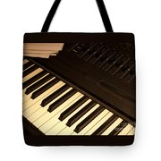 Electronic Keyboard Tote Bag
