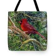 Elegance In Red Tote Bag