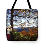 Elegant Fall Tote Bag