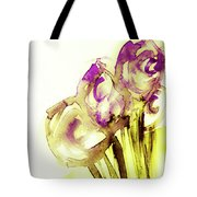 Elegant Flowers Tote Bag