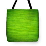 Elegant Green Abstract Background Tote Bag