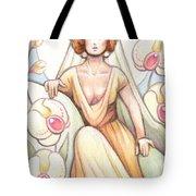 Elegant Orchid Tote Bag