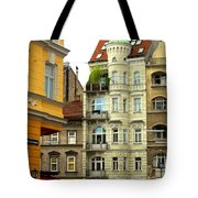 Elegant Vienna Apartment Building Tote Bag