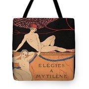 Elegies A Mytilene Tote Bag
