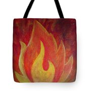 Element Of Fire Tote Bag