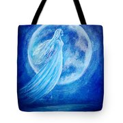 Elemental Earth Angel Of Water Tote Bag