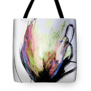 Elemental In Color Abstract Painting Tote Bag