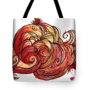 Elements Of Fire Tote Bag
