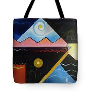 Elements Of Light Tote Bag