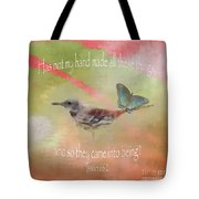 Elements Of Nature - Verse Tote Bag
