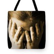 Elena Hands Tote Bag