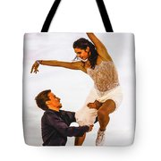 Elena Ilinykh And Ruslan Zhiganshin Tote Bag