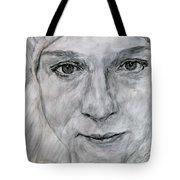 Unknown, Portrait Tote Bag