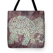 Elephant - Animal Series Tote Bag by Jennifer Kelly