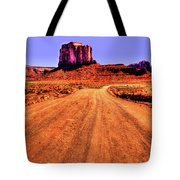 Elephant Butte Monument Valley Navajo Tribal Park Tote Bag