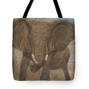 Elephant Charging Tote Bag