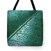 Elephant Ear Leaf Tote Bag