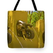 Elephant Fountain One Tote Bag