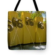 Elephant Fountain Two Tote Bag