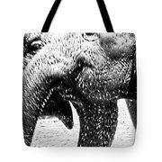 Elephant Gossip Tote Bag