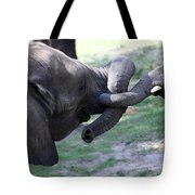 Elephant Greeting IIi Tote Bag