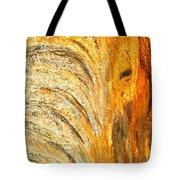 Elephant In The Setting Sun Tote Bag