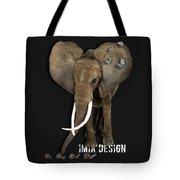 Elephant No 04 Tote Bag