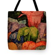 Elephant Party Tote Bag