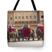 Elephant Ride 2 Tote Bag