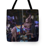 Elephant Ride At The Fair Tote Bag