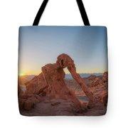 Elephant Rock Sunrise  Tote Bag