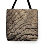 Elephant Skin Background Tote Bag