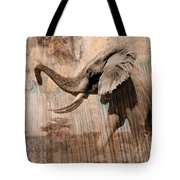 Elephant Visions Wall Art Tote Bag