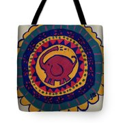 Elephant Wheel Tote Bag
