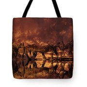 Elephants In The Clouds Tote Bag
