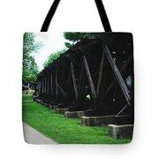 Elevated Railroad Tote Bag