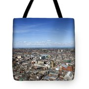 Elevated View Of Blackpool Tote Bag