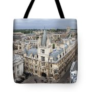 Elevated View Of Cambridge Tote Bag