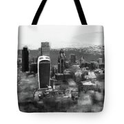 Elevated View Of London Tote Bag