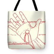 Eleventh Station- Jesus Is Nailed To The Cross  Tote Bag