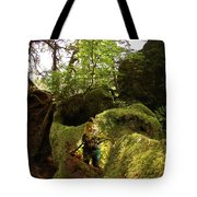 Elf Cave Tote Bag