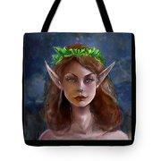 Elf Girl 1 Tote Bag