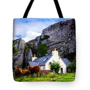 Elgol Cottage, Skye Tote Bag