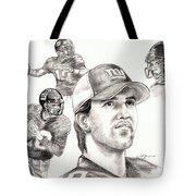 Eli Manning Tote Bag