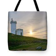 Elie Lighthouse. Late Afternoon. Tote Bag