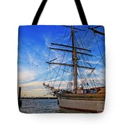 Elissa Sailing Ship Tote Bag