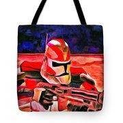 Elite Trooper - Da Tote Bag